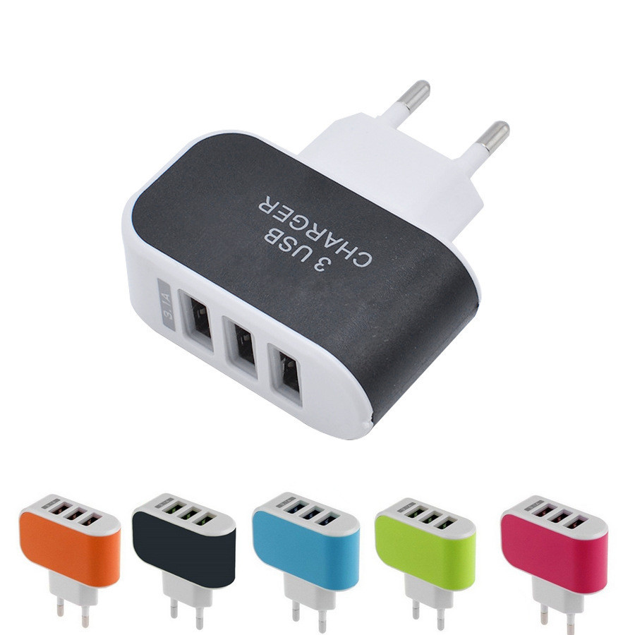 Laddare USB Adapter 2A + micro USB kabel Android.